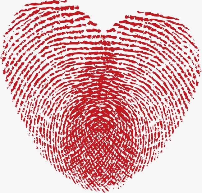 Fingerprints on Valentine's Day